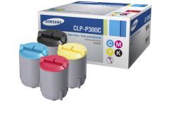 Originální tonery Samsung CLP-P300C (Černý + barevné) multipack