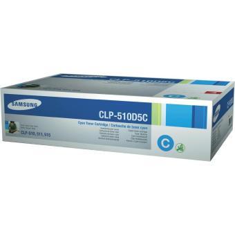 Originální toner Samsung CLP-510D5C(Azurový)