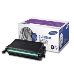 Toner do tiskárny Originální toner SAMSUNG CLP-K660A (Černý)