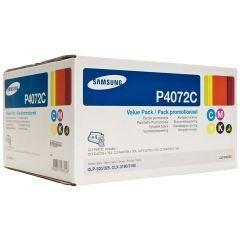 Originální tonery Samsung CLT-P4072C (Černý + barevné) multipack