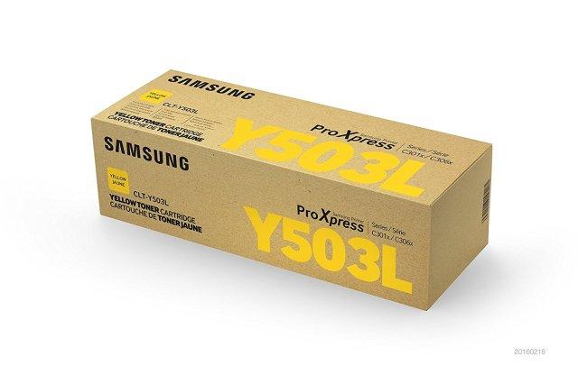 Originální toner Samsung CLT-Y503L (Žlutý)