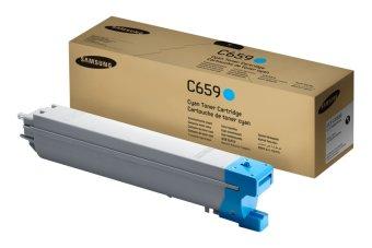 Originální toner SAMSUNG CLT-C659S (Azurový)