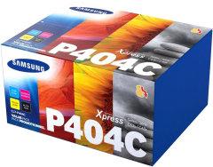 Originální tonery Samsung CLT-P404C (Černý + barevné) multipack