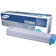 Toner do tiskárny Originální toner Samsung CLX-C8380A (Azurový)