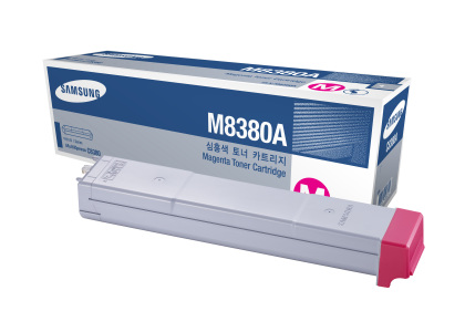 Originální toner Samsung CLX-M8380A (Purpurový)