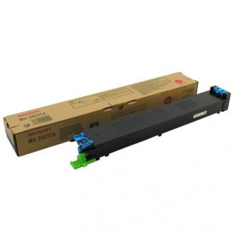 Originální toner Sharp MX-31GTCA (Azurový)