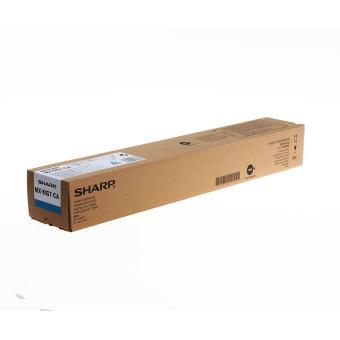 Originální toner Sharp MX-61GTCA (Azurový)