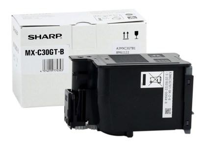 Originální toner Sharp MX-C30GTB (Černý)