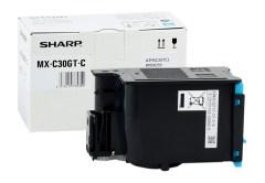 Toner do tiskárny Originální toner Sharp MX-C30GTC (Azurový)