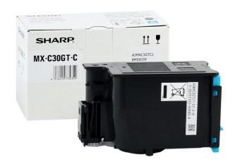 Originální toner Sharp MX-C30GTC (Azurový)