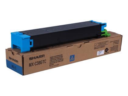 Originální toner Sharp MX-C38GTC (Azurový)
