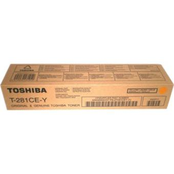 Originální toner Toshiba T281CE Y (Žlutý)
