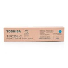 Toner do tiskárny Originální toner Toshiba TFC25E C (Azurový)