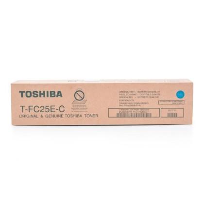 Originální toner Toshiba TFC25E C (Azurový)