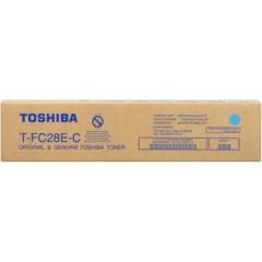 Toner do tiskárny Originální toner Toshiba TFC28E C (Azurový)