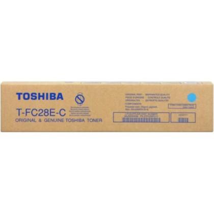 Originální toner Toshiba TFC28E C (Azurový)