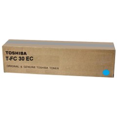 Toner do tiskárny Originální toner Toshiba TFC30E C (Azurový)