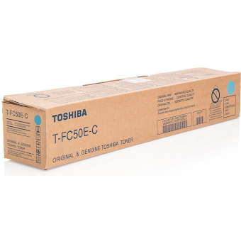 Originální toner Toshiba TFC50E C (Azurový)