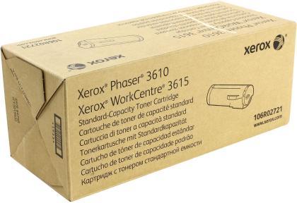 Originální toner XEROX  106R02721 (Černý)