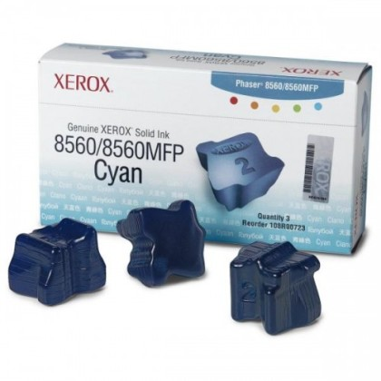 Originální tuhý inkoust XEROX 108R00764 (Azurový)