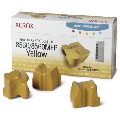 Originální tuhý inkoust XEROX 108R00766 (Žlutý)
