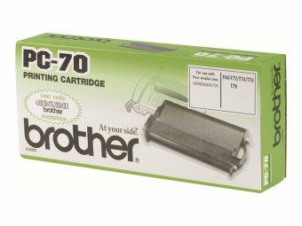 Originální fólie do faxu Brother PC70