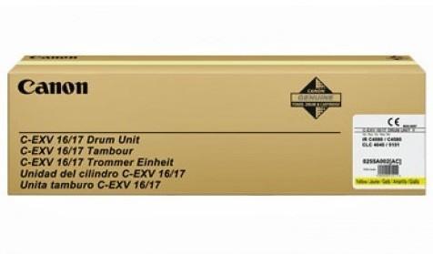 Originální fotoválec CANON C-EXV-16/17 (0255B002) (Žlutý Drum)