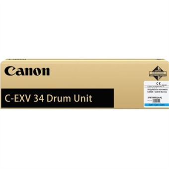 Originální fotoválec CANON C-EXV-34C-V (3787B003) (Azurový Drum)