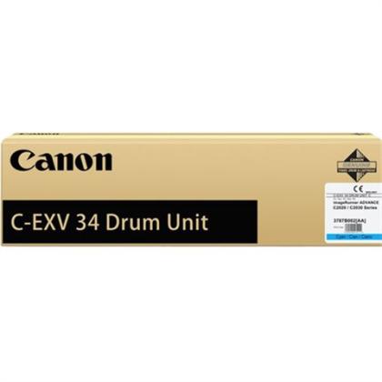Originální fotoválec CANON C-EXV-34C-V (3787B003) (Azurový fotoválec)