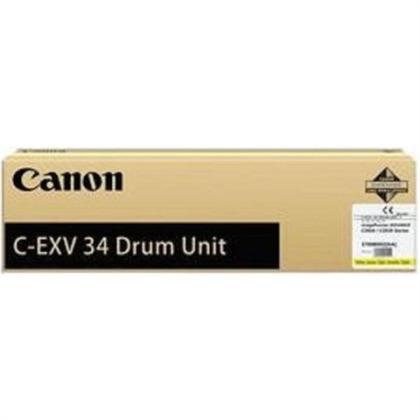 Originální fotoválec CANON C-EXV-34Y-V (3789B003) (Žlutý fotoválec)