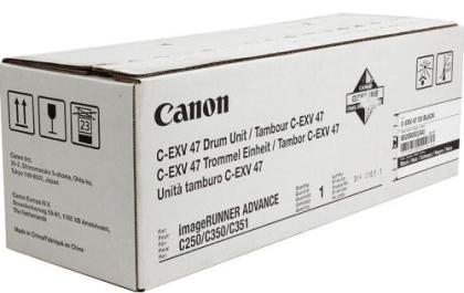 Originální fotoválec CANON C-EXV-47Bk (Černý Drum)