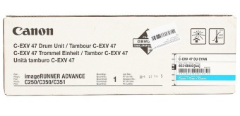 Originální fotoválec CANON C-EXV-47C (Azurový fotoválec)