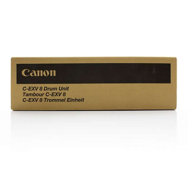 Originální fotoválec CANON C-EXV-8 BK (7625A002) (Černý Drum)