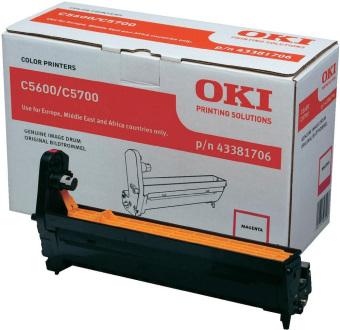 Originální fotoválec OKI 43381706 (Purpurový fotoválec)