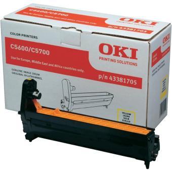 Originální fotoválec OKI 43381705 (Žlutý fotoválec)