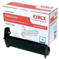 Originální fotoválec OKI 43381723 (Azurový Drum)