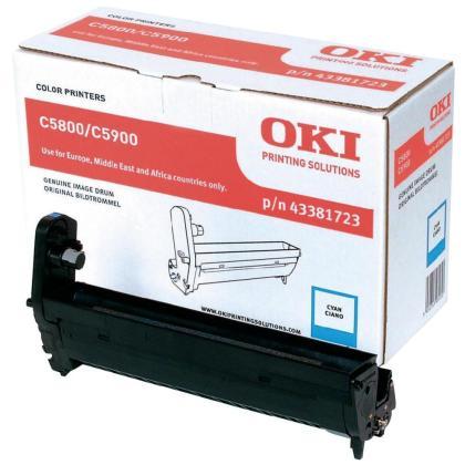 Originální fotoválec OKI 43381723 (Azurový fotoválec)