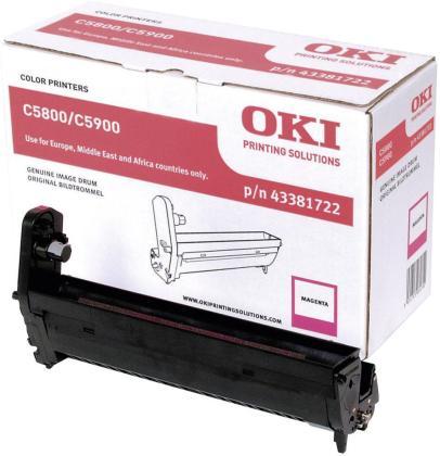 Originální fotoválec OKI 43381722 (Purpurový fotoválec)