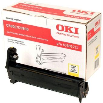 Originální fotoválec OKI 43381721 (Žlutý Drum)