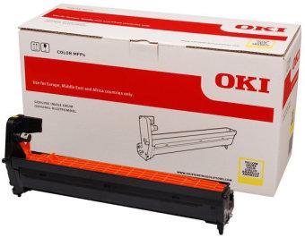 Originální fotoválec OKI 46507305 (Žlutý Drum)
