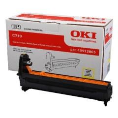 Originální fotoválec OKI 43913805 (Žlutý Drum)