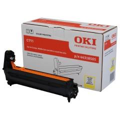 Originální fotoválec OKI 44318505 (Žlutý Drum)