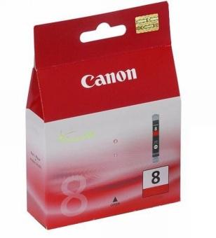 Originální cartridge Canon CLI-8R (Červená)