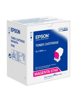 Originální toner EPSON C13S050748 (Purpurový)