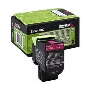 Originální toner Lexmark 80C2SM0 (Purpurový)