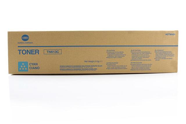 Originální toner Minolta TN-613C (A0TM450) (Azurový)