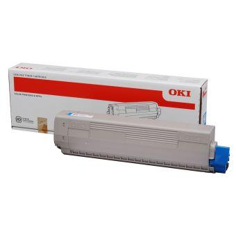 Originální toner OKI 44844507 (Azurový)
