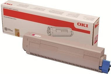 Originální toner OKI 45862838 (Purpurový)