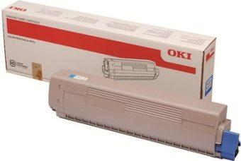Originální toner OKI 45862839 (Azurový)