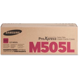 Originální toner Samsung CLT-M505L (Purpurový)